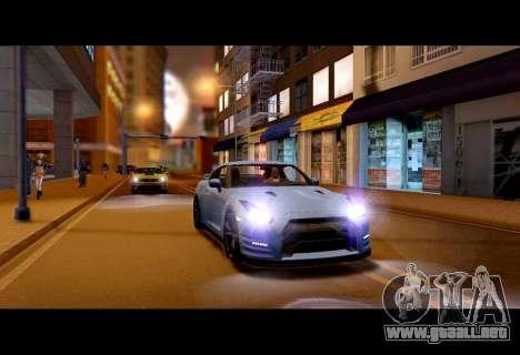 Real World ENBSeries v5.0 Final para GTA San Andreas segunda pantalla