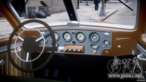 Cord 812 Charged Beverly Sedan 1937 para GTA 4 vista superior