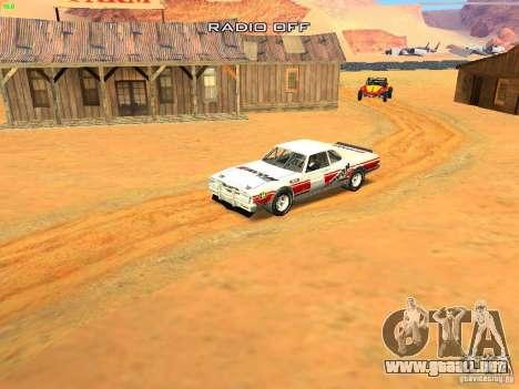 Jupiter Eagleray MK5 para vista inferior GTA San Andreas