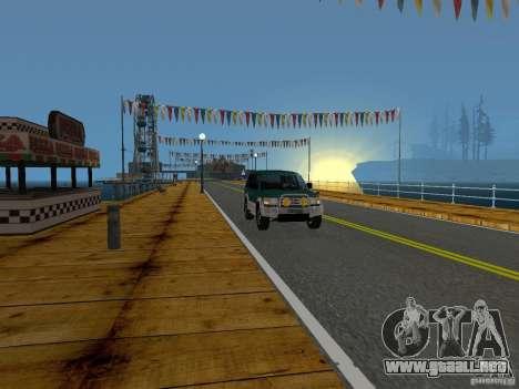 Playa nueva textura v2.0 para GTA San Andreas décimo de pantalla