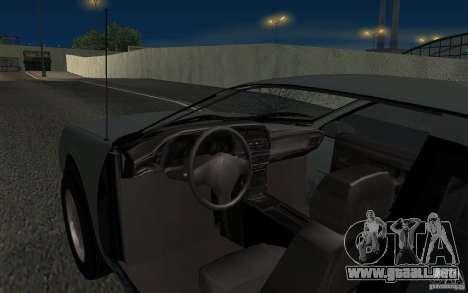 Ford Thunderbird 1993 para la vista superior GTA San Andreas