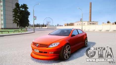Schafter2 Sedan para GTA 4 visión correcta