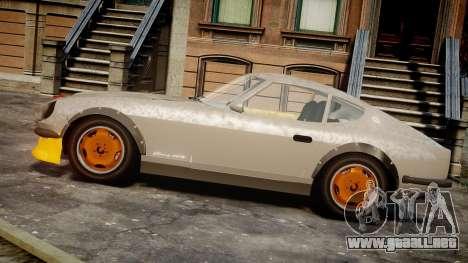 Nissan 260ZX Fairlady Z para GTA 4 left