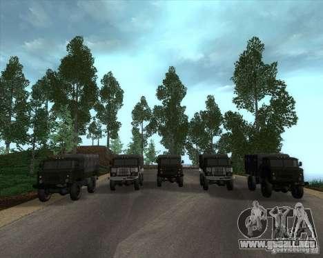 GAZ 66 desfile para GTA San Andreas