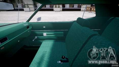 Mercury Monterey 2DR 1972 para GTA 4 vista hacia atrás