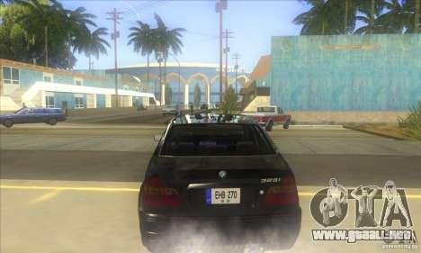 BMW 325i E46 v2.0 para la visión correcta GTA San Andreas