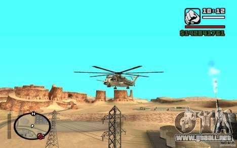 Sikorsky MH-53 con trampilla cerrada para GTA San Andreas left