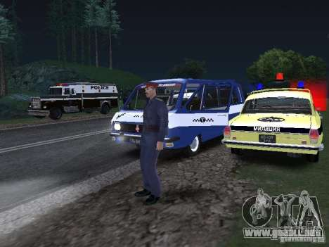 Police Post para GTA San Andreas sucesivamente de pantalla