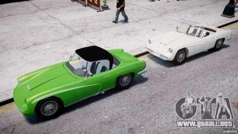 FSO Syrena Sport 1960 para GTA 4 vista desde abajo