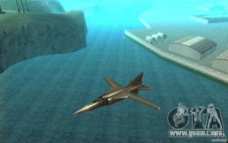 MiG-23 a los Flogger para GTA San Andreas