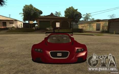 Seat Cupra GT para la visión correcta GTA San Andreas