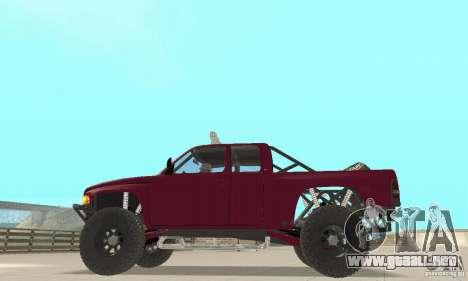 Dodge Ram Prerunner para la visión correcta GTA San Andreas