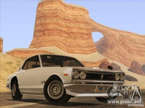 HQ Country Desert v1.3 para GTA San Andreas séptima pantalla