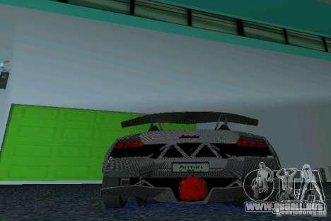 Lamborghini Sesto Elemento para GTA Vice City vista lateral izquierdo