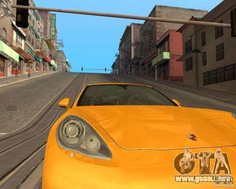 ENBSeries Realistic para GTA San Andreas sexta pantalla