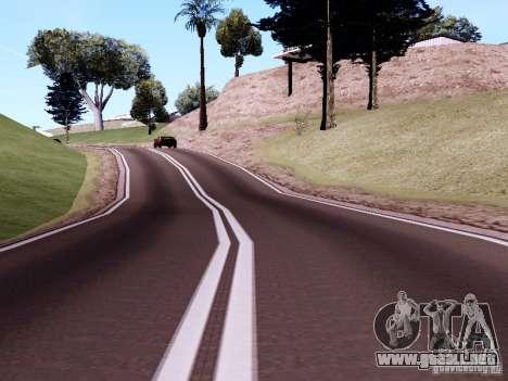 New Roads para GTA San Andreas octavo de pantalla