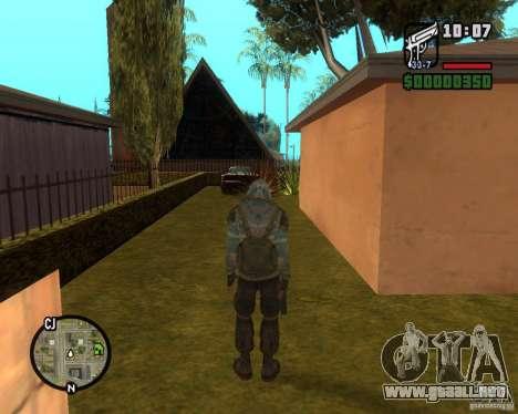 Cielo despejado acosador de para GTA San Andreas tercera pantalla