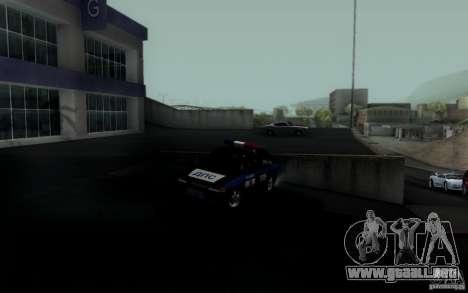ВАЗ 2114 DPS para GTA San Andreas vista posterior izquierda