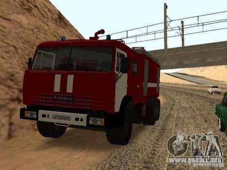 KAMAZ 53229 bombero para GTA San Andreas