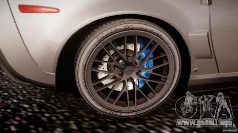 Chevrolet Corvette ZR1 2009 v1.2 para GTA 4 vista desde abajo