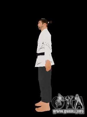 Reteksturirovannye karate para GTA San Andreas segunda pantalla