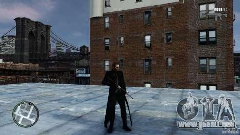 RE5 Wesker para GTA 4 adelante de pantalla