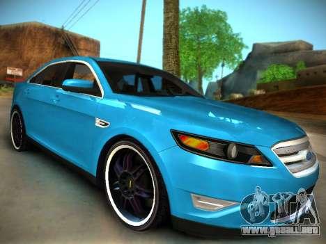 Ford Taurus SHO 2011 para la visión correcta GTA San Andreas