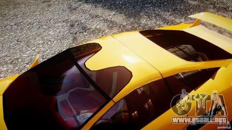 Lamborghini Cala para GTA 4 vista lateral