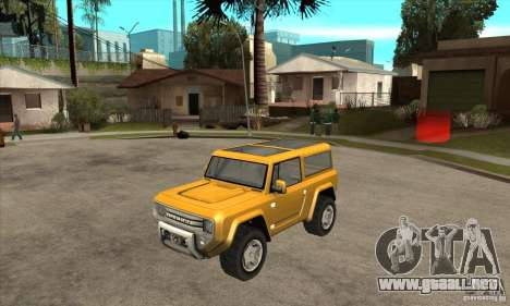 Ford Bronco Concept para GTA San Andreas
