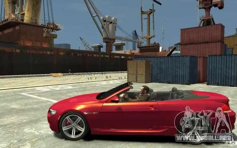 BMW M6 Convertible para GTA 4 left