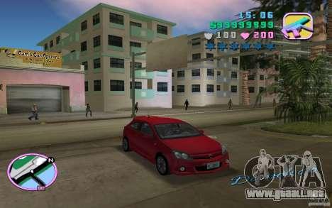 Opel Astra OPC 2006 para GTA Vice City vista lateral izquierdo