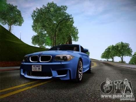 BMW 1M v2 para la visión correcta GTA San Andreas