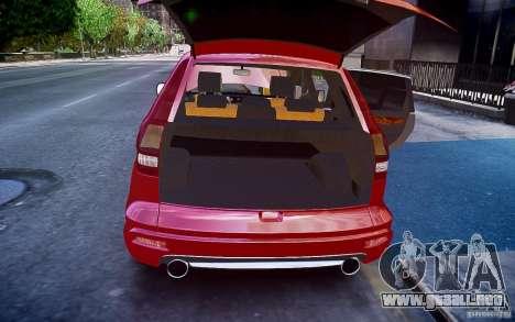 Honda CR-V Light Tuning para GTA 4 vista desde abajo