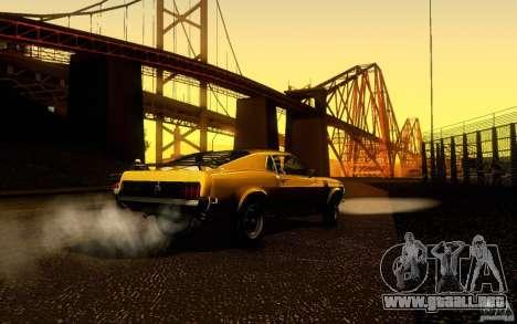 Ford Mustang Boss 302 para visión interna GTA San Andreas