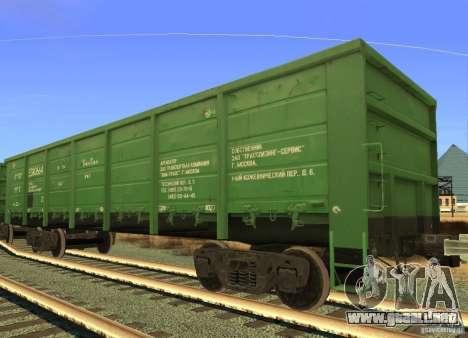 FERROCARRIL mod para GTA San Andreas novena de pantalla