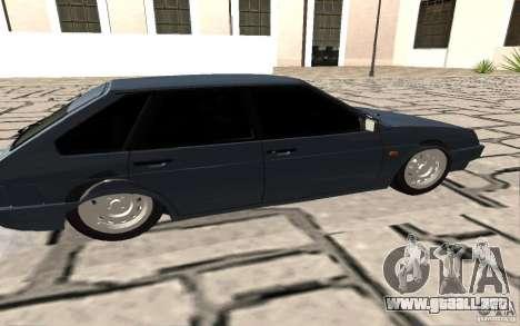 VAZ 2109 v. 2 para GTA San Andreas left