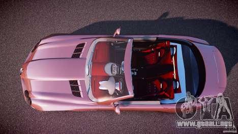 Mercedes Benz SLR McLaren 722s 2005 [EPM] para GTA 4 visión correcta