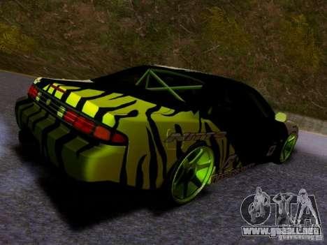 Nissan Silvia S14 Matt Powers v3 para GTA San Andreas vista posterior izquierda
