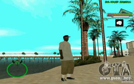 Nigga HD skin para GTA San Andreas sucesivamente de pantalla