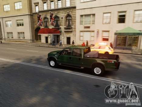Ford F-250 FX4 2009 para GTA 4 vista lateral
