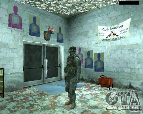Soldado de infantería piel CoD MW 2 para GTA San Andreas