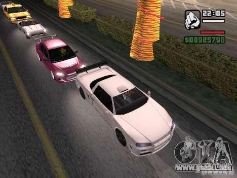 Infernus - beta - v.1 para GTA San Andreas left