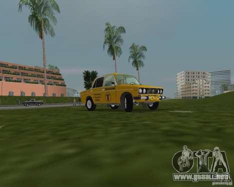 Taxi VAZ 2106 para GTA Vice City vista lateral izquierdo