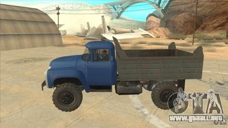 ZIL-MMZ 4502 tracción para GTA San Andreas left