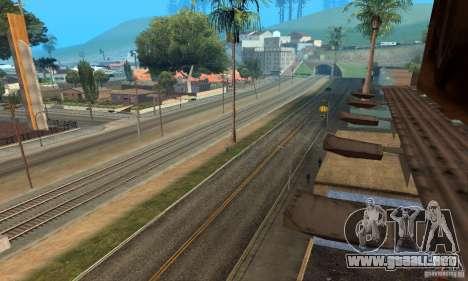 Grove Street 2013 v1 para GTA San Andreas segunda pantalla