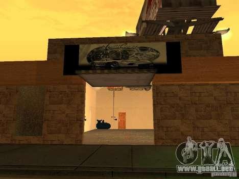 New PaynSpay: West Coast Customs para GTA San Andreas