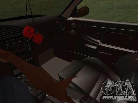 BMW E36 Drift para la vista superior GTA San Andreas