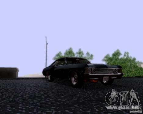 Super Natural ENBSeries para GTA San Andreas segunda pantalla