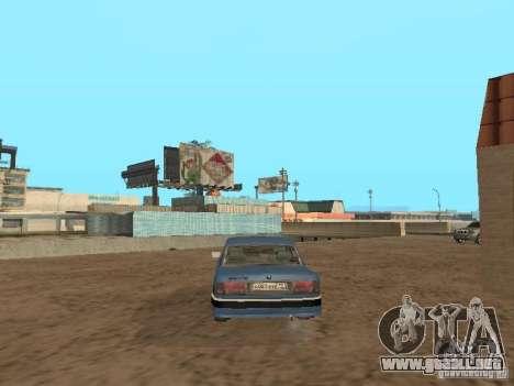 GAZ Volga 31105 para GTA San Andreas vista posterior izquierda