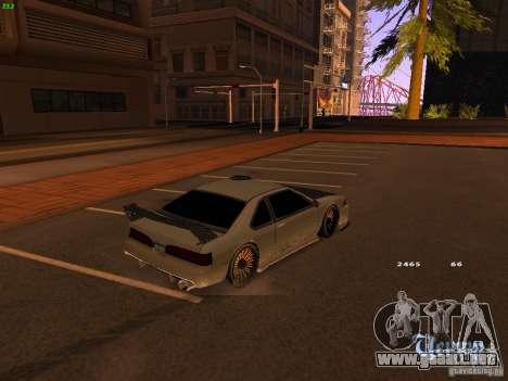 New Racing Style Fortune para GTA San Andreas vista posterior izquierda